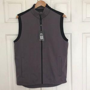 Slazenger golf tech Mesh vest gray NWT